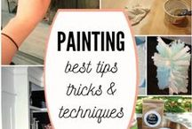 Paint Like A Pro / Tips for painting like a pro - from color choice, to brushes, to rollers, we've got you covered. More great tips from #RockysACE at rockys.com!
