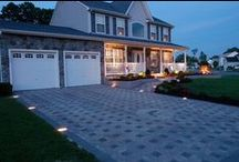 Pave The Way / From pavers to concrete to re-doing your driveway, find expert advice, ideas and designs to add some curb appeal to your home. More great tips on rockys.com #RockysACE