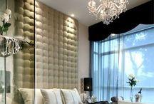Bedrooms: Headboards and beds / DIY interior design, bedrooms