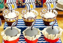 Party ideas: Pirates / Entertaining; parties; party table settings; party decorations; party invitations; party lighting