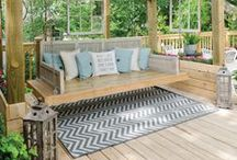 Deck Out Your Backyard / Find inspiration for designing your dream deck and have the backyard you've always wanted! #RockysACE rockys.com