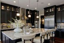 Kitchens We're Krazy About! / Inspiration for kitchen makeovers, making use of small spaces, design tips and tricks - plus the dream kitchens we'd love to have! #RockysACE rockys.com