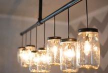 Fun 'n Funky Lights / Looking for an easy way to change up a room? Light it up with different lights! We're inspired by these creative lighting techniques for every room in the house! #RockysACE rockys.com