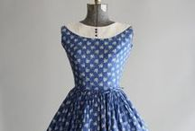 Style Element: Naive / Primary colors, small prints (especially gingham and plaids), full skirts, ponytails, big hair