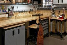 Organization tips and ideas / Interior organization design; garage organization; kitchen organization ; tips and ideas for organization
