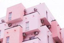 EXTERIOR / Home Decor • Architecture | Adorable front porches & dreamy fairy lights.