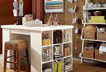 Art and craft: Shelving / Book shelves and other shelving for the home; art and craft organization; paper organization