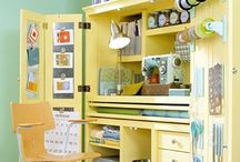 Art and craft: Storage cabinets / Cupboard, cabinet, closet storage for art and craft tools, equipment and paper