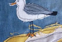 Sewing: Quilts, cushions and banners / Needle crafts quilts, cushions and bunting; sewing; embroidery; quilting; pillows