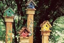Garden: Bird houses, feeders and baths / Outdoor bird houses, feeders, baths and insect feeders