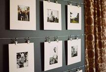 Photo walls / Gallery walls