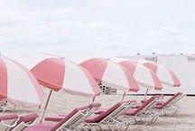 SPLASH / Inspiration • Beach | Sunsets in the sand, oceans & endless summer.