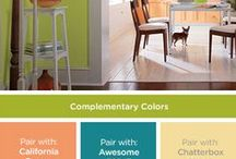 """Color of the Month 2017 / The Paint Studio will be showcasing a """"Color of the Month"""" featured article each month. This exciting new update highlights a different color each month from either the Clark+Kensington or Valspar color palettes in the Paint Studio at Ace. #RockysACE rockys.com"""