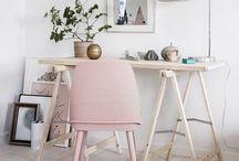 DESK / Home Decor • Office | Clean surfaces, supplies & organization.