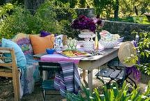 Outdoor Living / Beautiful ways to make our outdoor time even more enjoyable. / by Dorothy Laton