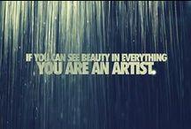 Artistic Musings / by Freyja Wyred