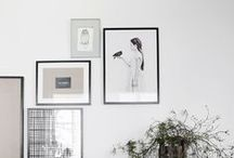 HOW TO : GALLERY WALL / Salon-style art walls / by Tappan Collective