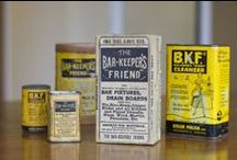 Bar Keepers Friend through the years. / Invented in 1882, Bar Keepers Friend has been through it's share of packaging changes. The product however, has remained the same and superior to its competitors.