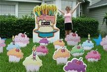 Birthday Lawn Signs / Birthday Signs for Celebrations