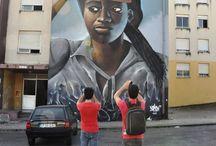 Street Art Faces / Faces
