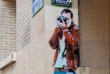 Graffiti, Zebrating and .... / Graffiti