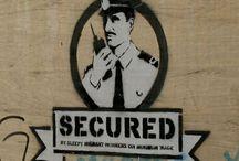Banksy Police / Politie / Policas / Stencils and Graffiti