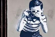 Banksy Children / Enfants / Kinderen / Infanoj / Graffiti and Stencils