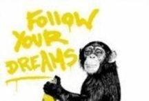 Banksy Monkey /  Singe / Aap / Simjo / Monkey
