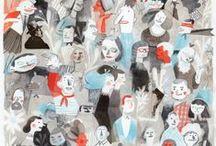 People / Illustrated people