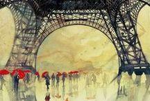 Backgrounds / Illustrated Backgrounds , Landscapes...