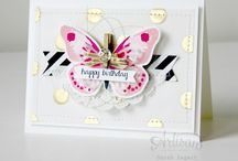 Card inspiration / Cards, tags and scrapbook pages for inspiration!