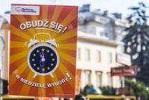 Obudź się! Wybory już 25.05! / 22 maja w Warszawie zachęcaliśmy do głosowania w euowyborach - pamiętaj, 25 maja widzimy się w lokalach wyborczych!