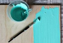 Paint it Pretty / Distressing, antiquing and glazing, oh my! Check out these painting tips for achieving a new look in your home.
