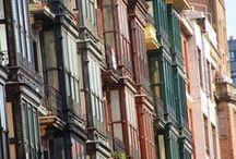 Bilbao / Fotos de Bilbao, sus edificios, sus rincones.