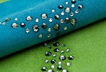 Crystal Leather Collection with Swarovski Elements