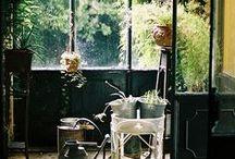 Espacios / Inspiraciones para crear espacios utilizando objetos recuperados,