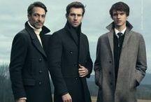 Moda para hombres / Hombre hace referencia a lo masculino.