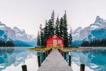 Cabins, small and charming