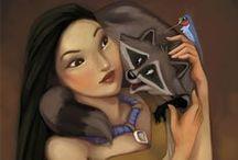 Pocahontas!!! My favourite!!!