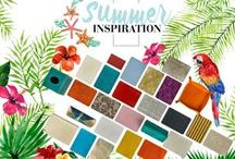 Summer inspiration 2016 / Everything good, everything magical happens between the months of June and August.