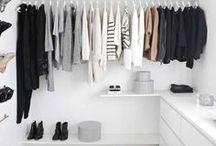 H O M E // Walk In Closet