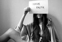 Faith #socialmedia / Have a little faith - go a long way.