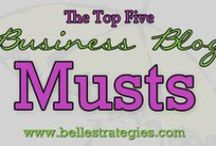 Belle Blogs #socialmedia / All our blogs in one easy, pinnable place! Read on friends, read on!
