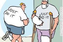 Sports medicine fun/humour