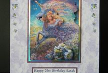 Joanna Sheen Cards / Card made using Joanna Sheen's CDs and stamps