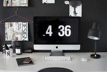 Domowe biuro | Home Office / Home office, czyli kilka inspiracji znalezionych w sieci - z myślą o tych z Was, którzy marzą o własnym kącie do pracy w domu