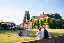 Venue With A View / Introducing Micklefield Hall. A beautiful private country house with a converted 16th century Barn, and extension grounds and gardens