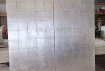 SILVER LEAVES: utilizzi della foglia argento negli elementi di arredo / applicazione della foglia d'argento negli elementi di arredo pubblici e privati