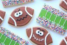 Football  Party Food Recipes / Football, fantasy football, fanduel and Superbowl party themed food!