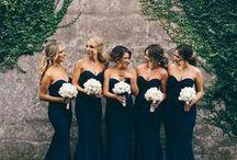Bridesmaids, flower girls and Grooms men / Photos of Bridemaid dresses, flower girls and Grooms suits